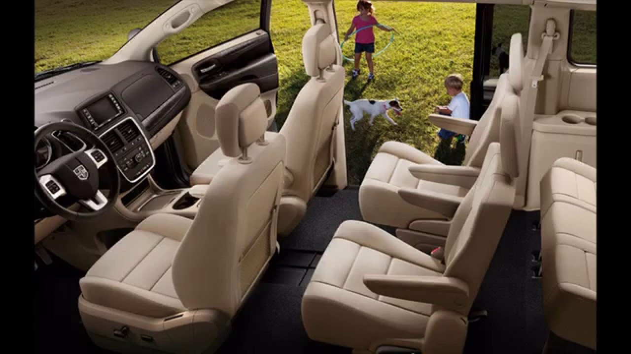 Dodge Grand Caravan 2016 Interior   YouTube