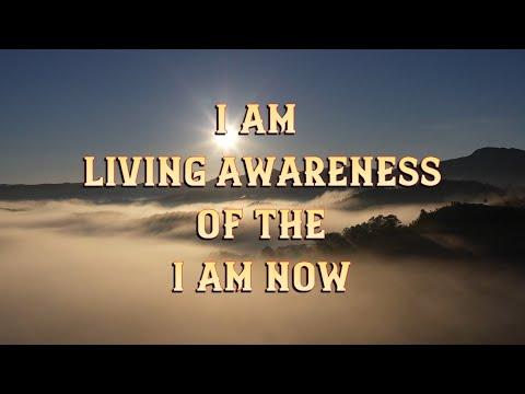 I Am Living Awareness Of The I Am Now