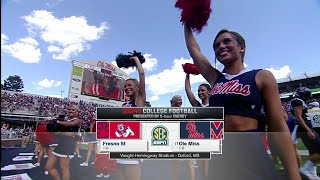 NCAAF / Week 02 / 12.09.2015 / Fresno State Bulldogs @ (17) Ole Miss Rebels