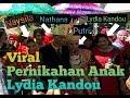 Viral,, Anak bungsu Artis Lydia Kandou menikah dengan gadis asal Pesawaran Lampung