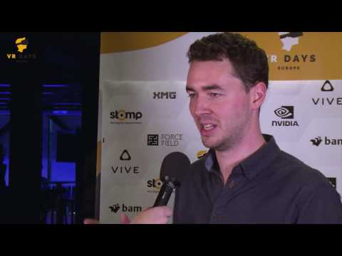 Interview Edward Miller (Interactive Imagery Specialist) at VR Days Europe 2016