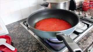 Yiayia's Soutzoukakia - Greek Meatballs In Tomato Sauce!