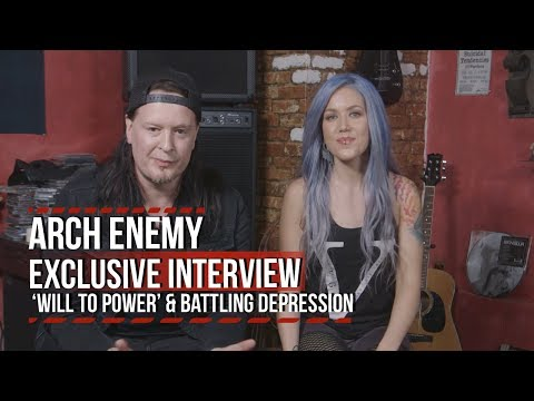 Arch Enemy on 'Will to Power' + Alissa White-Gluz Battling Depression