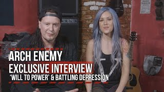 Arch Enemy on 'Will to Power' + Alissa White-Gluz Battling Depression