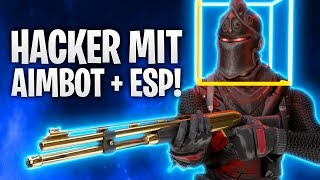 HACKER mit AIMBOT + ESP! +20 BOMB! 🔥 | Fortnite: Battle Royale
