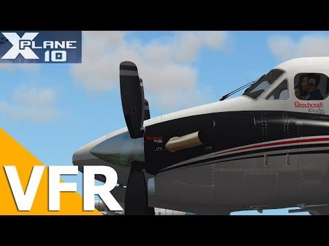 [VFR] - Maringa para Londria Visual via REA com King C90