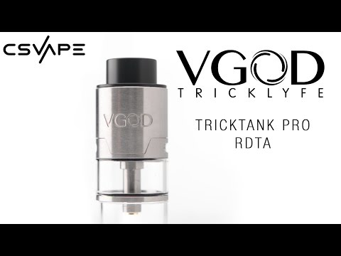 VGOD TRICKTANK PRO RDTA Product Overview