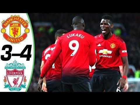 🔥 Манчестер Юнайтед - Ливерпуль 3-4 - Обзор Матча Чемпионата Англии 2018/2019 HD 🔥
