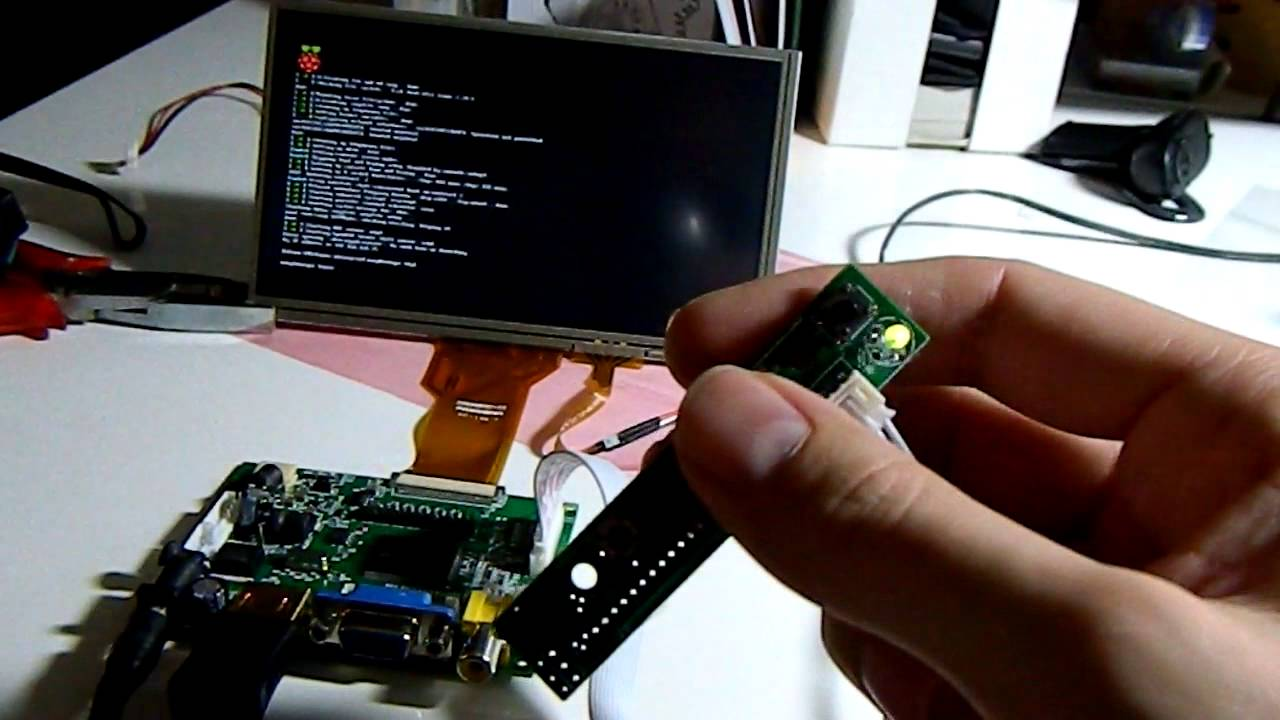 Raspberry Pi Resistive Touchscreen With 7 Quot Tft Over Hdmi