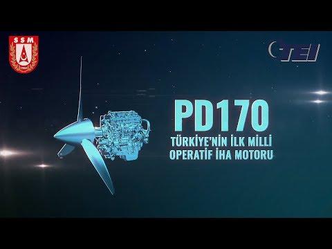 TEI - PD170 | Operatif İHA Motoru [Dünyada Sınıfının EN İYİSİ]