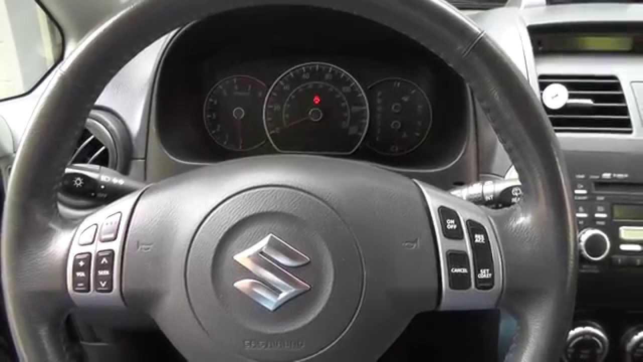 Suzuki Sx4 Engine Start Up