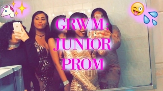 GRWM: Junior Prom MAKEUP + OUTFIT