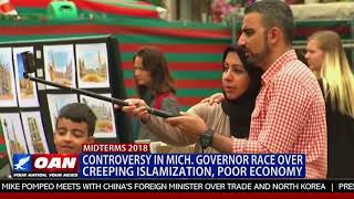 Controversy in Mich. Governor Race Over Creeping Islamization, Poor Economy