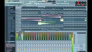 FL Studio Remake: Afrojack - Rock The House(?) Full Remake [DiegoMolinams]