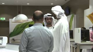 WavexTouch  interactivite Solution for Etisalat store in Al Ain, United Arab Emirates