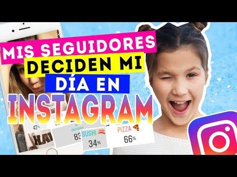 Mis seguidores DECIDEN mi DÍA en instagram | BROMA con Instastories | Daniela Golubeva