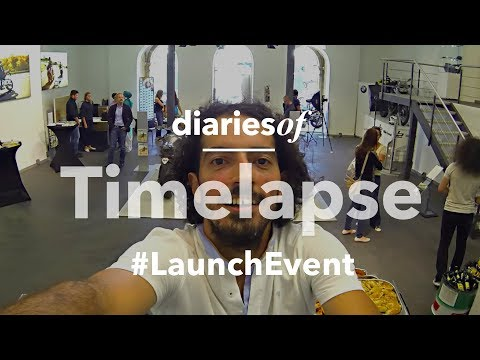 Timelapse of diariesof #6 Peru Launch - Event