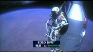 Felix Baumgartner - Red Bull Stratos - Complete Space Jump - GoPro