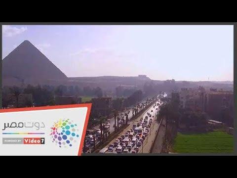 اليوم السابع :شوف مصر من فوق .. الأهرامات شاهد على التاريخ بتقنية كاميرا دورن