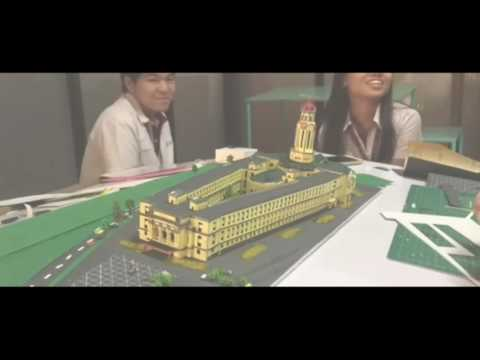 Manila City Hall Scale Model