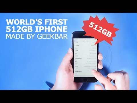 World's First 512GB iPhone Made by Geekbar