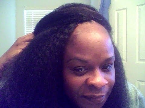 Crochet Hair Kanekalon : Human crochet hair extensions - YouTube