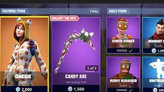 Fortnite iteam shop! Daily & Featured items! (skin reset #1)