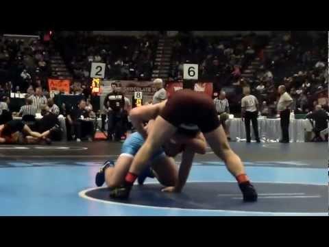 Levi Ashley NYSPHSAA quarterfinal win
