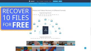 Recover deleted photos (for free!)? Try Recoverit Photo Recovery