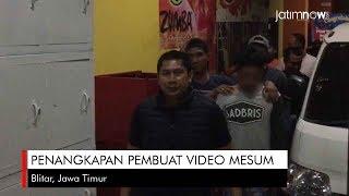 Penangkapan Pembuat Video Mesum di Blitar