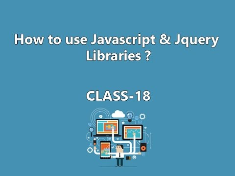 How to use Javascript & Jquery Libraries to Website | How to create Slideshow in Jquery- Class 18