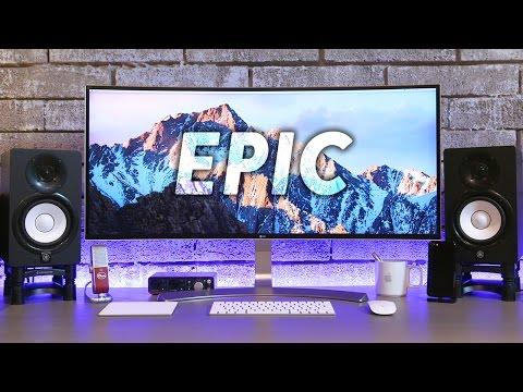 Epic Desk Tour v2.0 (Late 2016 Setup)
