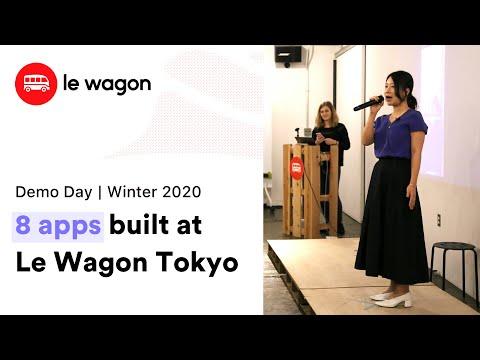 Coding Bootcamp Tokyo | Le Wagon Demo Day - Winter 2020