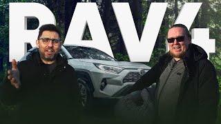 Новый Toyota RAV4 2020 - брутальный трансгендер