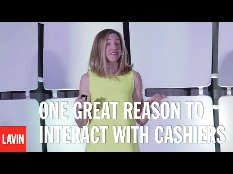 Elizabeth Dunn: One Great Reason to Interact with Cashiers