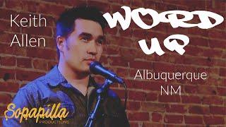"'WORD UP' - Keith Allen  ""Identity"""