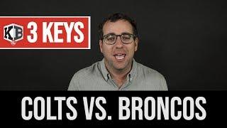 3 Keys For Colts vs. Broncos