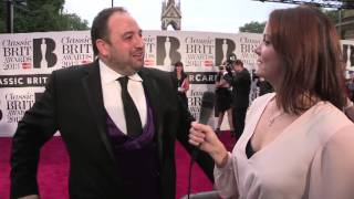Wynne Evans at the Classic BRIT Awards