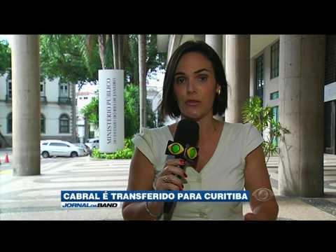 Sergio Cabral é transferido para Curitiba