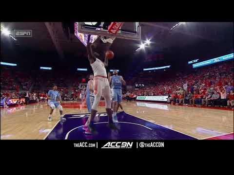 North Carolina vs Clemson College Basketball Condensed Game 2018
