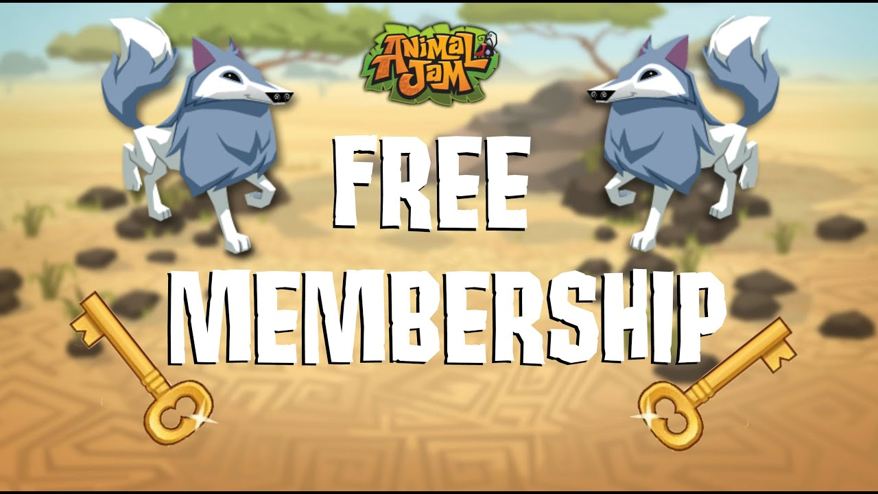 HOW TO GET FREE ANIMAL JAM MEMBERSHIP! (WORKING 2016) - YouTube