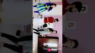 ChinnaThambi dubsmash |varsha,ChinnaThambi,malar owesome musically #musically