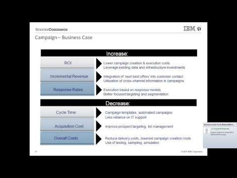 Customer Centric Marketing Using IBM Unica