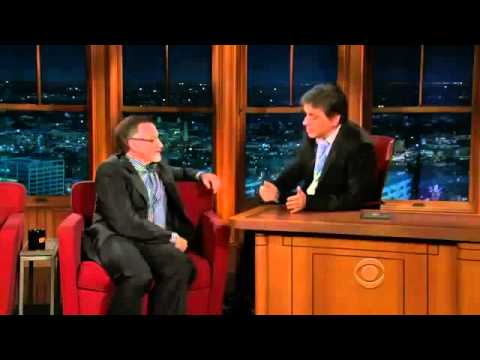 Robin Williams, Jonathan Dancy on Craig Ferguson Full Episodes