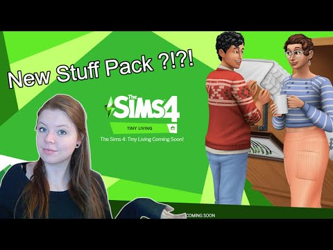 The Sims 4 : Tiny Living Stuff Pack |