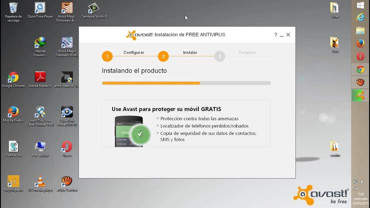 descargar avast free antivirus gratis por un año
