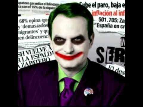 Resultado de imagen de zapatero joker