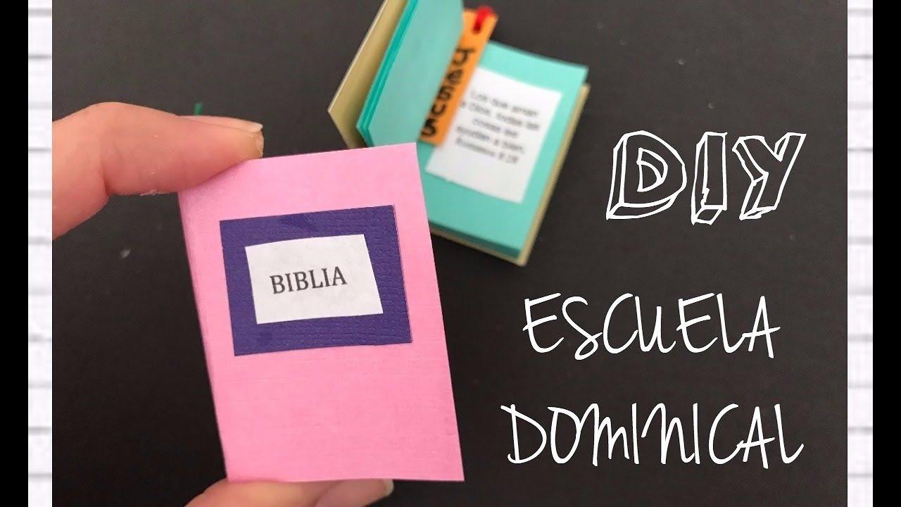 Manualidades Cristianas/mini Biblia
