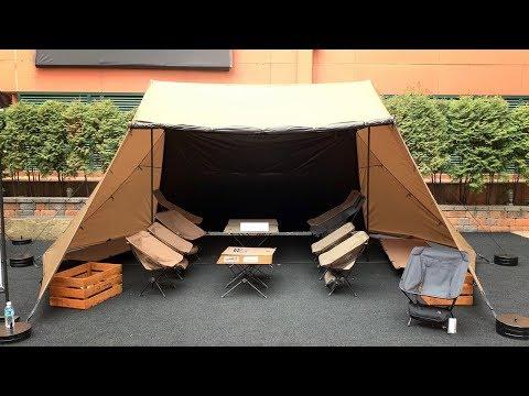 텐트 쉘터 새로 출시한 헬리녹스 신제품 전시회 다녀왔습니다 │ 캠핑 백패킹 텐트 타프 쉘터 │ Helinox New Tent, Tarp, Shelter