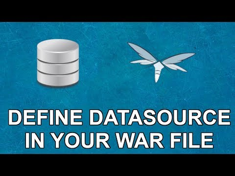 Defining JavaEE DataSources With DS Files
